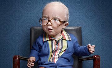 笑聲超詭異! 這孩子是羅賓威廉斯投胎轉世?