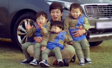 萌翻你的心! 南韓國民3胞胎露營去