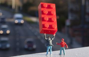 超越玩具的極限 樂高積木的活用法