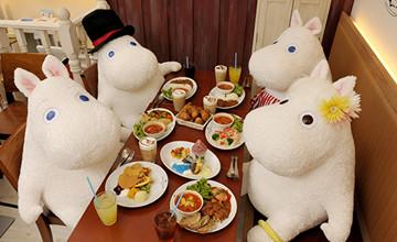 嚕嚕米本尊會現身?! 5個東京「嚕嚕米咖啡廳」必去理由