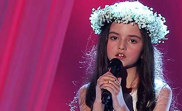 天使般美妙歌聲的主人 她居然只有8歲?!