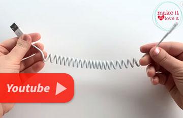 3分鐘簡單製作!屬於你的電話線充電器!