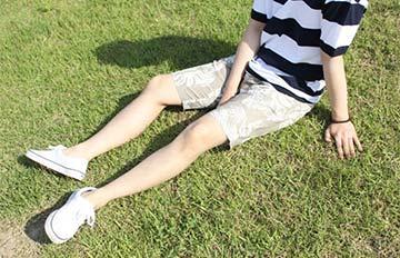 有腳毛還是可以穿!學韓國男性搭短褲
