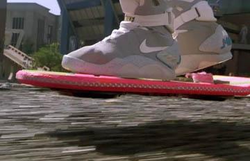 電影裡出現的「飄浮滑板」終於成真?