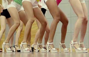 在練習室更性感的女偶像TOP 7