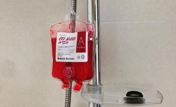 用血來洗澡?!想當吸血鬼必備韓國「血袋沐浴乳」