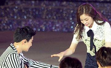 EXO與金妍兒的相遇,Suho伸出那手讓大家驚呆了!
