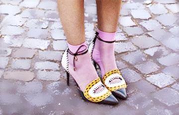 鞋 X  襪子 潮人必備的秋天LOOK