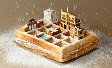 一座城市,一道美食 | 美食與插畫結合的迷你城市