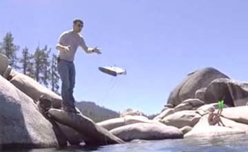 一條線探索未知世界!釣魚智慧「水下無人機」