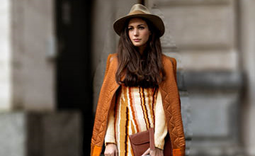 季節色彩學 秋天你需要有一件棕色系的衣服