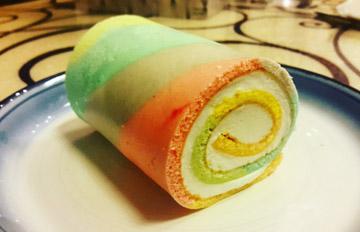 Niel新歌MV中出現的甜點,圖解韓國最近大熱的彩虹蛋糕做法