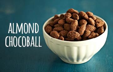甜點界的天作之合 10步做出巧克力杏仁球
