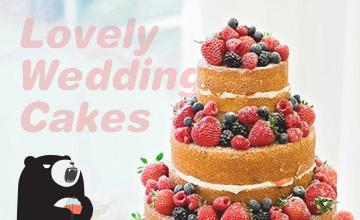 關於婚禮的所有  :婚禮蛋糕篇