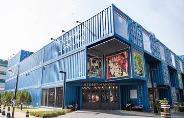 首爾潮牌聚集處  充滿年輕氣息的貨櫃商城