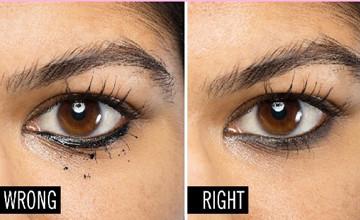 為什麼眼線老是暈開?5種錯誤範例讓你一看就懂