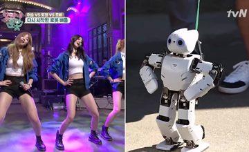 Baro的機器人女友大跳EXID上下舞!連韓國老奶奶也被它們萌到