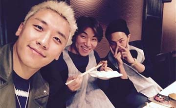 想知道 BIGBANG 的日常生活?只要關注他的 SNS!