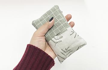 沒男友暖手也不怕過冬天了!自製環保暖手袋