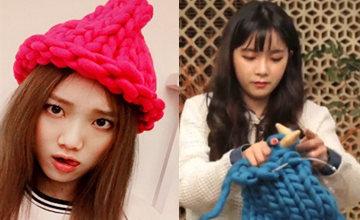 DIY韓妞正夯的粗針毛線帽,V臉扮可愛的最佳選擇