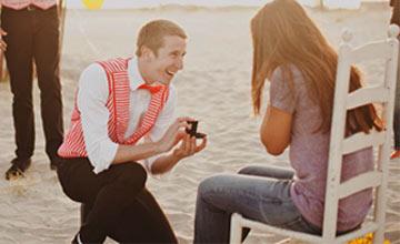 女生最想要得到的 甜甜的求婚10項