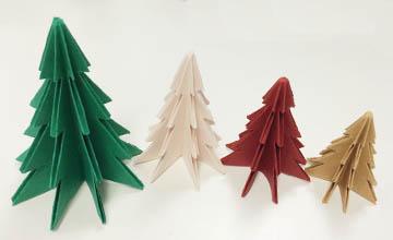 PIKI藝手遮天:DIY折紙聖誕樹