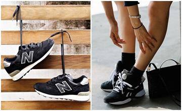 真的好愛「黑色球鞋」♥一雙怎麼夠穿?!