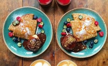 為了男友(?) 他每天都會做這樣美美的對稱早餐