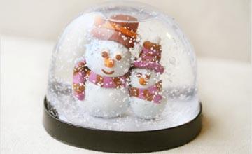 PIKI藝手遮天:DIY「雪景球」超簡單!