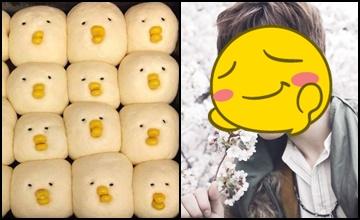 韓國網友再發現!傳說中的「小雞麵包男」也太可愛吧!