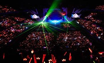 在日開唱觀眾動員人數!韓流大勢們的威嚴!