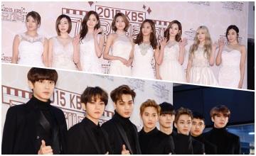 KBS 歌謠大慶典紅毯秀!去哪見到這麼多黑馬王子&白雪公主! :O