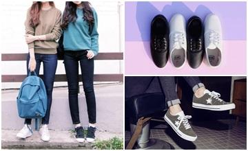 沒牌也很好搭!韓國女孩鞋櫃中最常出現的運動鞋