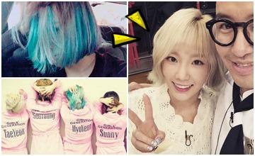 太妍把精靈長髮剪了!少女時代正式進入「短髮時代」?!