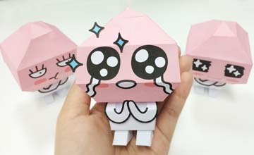PIKI藝手遮天:自製紙玩偶