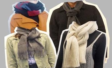 冬季必學!超實用4種時尚圍巾打法教學