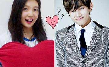 韓國網友再發現!V 和 JOY 真的曖昧中?