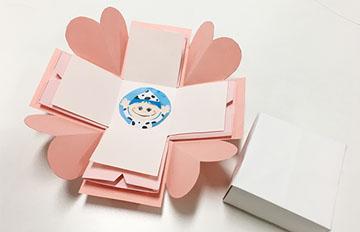 PIKI藝手遮天:情人節卡片就靠這招「盒型卡片」