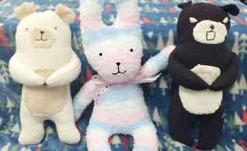 PIKI藝手遮天:自製襪子娃娃