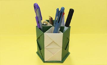 PIKI藝手遮天:自製簡易筆筒