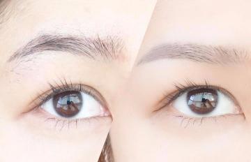 韓國化妝師親自示範:男生女生一字眉的修剪方法