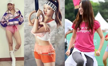 激起你的減肥慾望!學會韓星的運動穿搭稱霸健身房