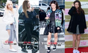 韓星私下都愛這樣出街 不敗的純黑白運動鞋LOOK
