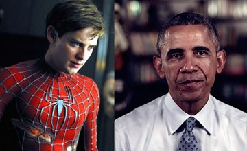 你能想像歐巴馬與蜘蛛人相遇了? 還能買門票看他們吃早餐!