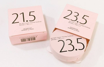 韓妞氣墊粉餅新寵♥ 用0.5色號差打造自然偽素顏妝感!