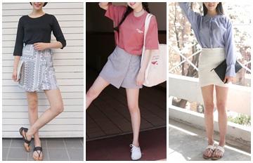 買裙也有小心機!韓國流行的「斜擺裙」超百搭!