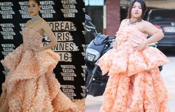 棉花糖女孩玩創意!她用平價零食做出女星優雅禮服