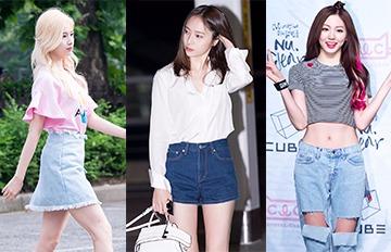 脫下校服 韓國女高中生最想嘗試的暑假造型BEST 10
