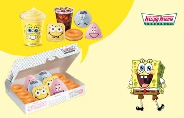 Krispy Kreme放大絕,超可愛海綿寶寶甜甜圈讓韓妞也淪陷❤