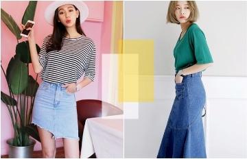 韓妞夏季必備單品★一定要入手的5款時尚牛仔裙是這些 !